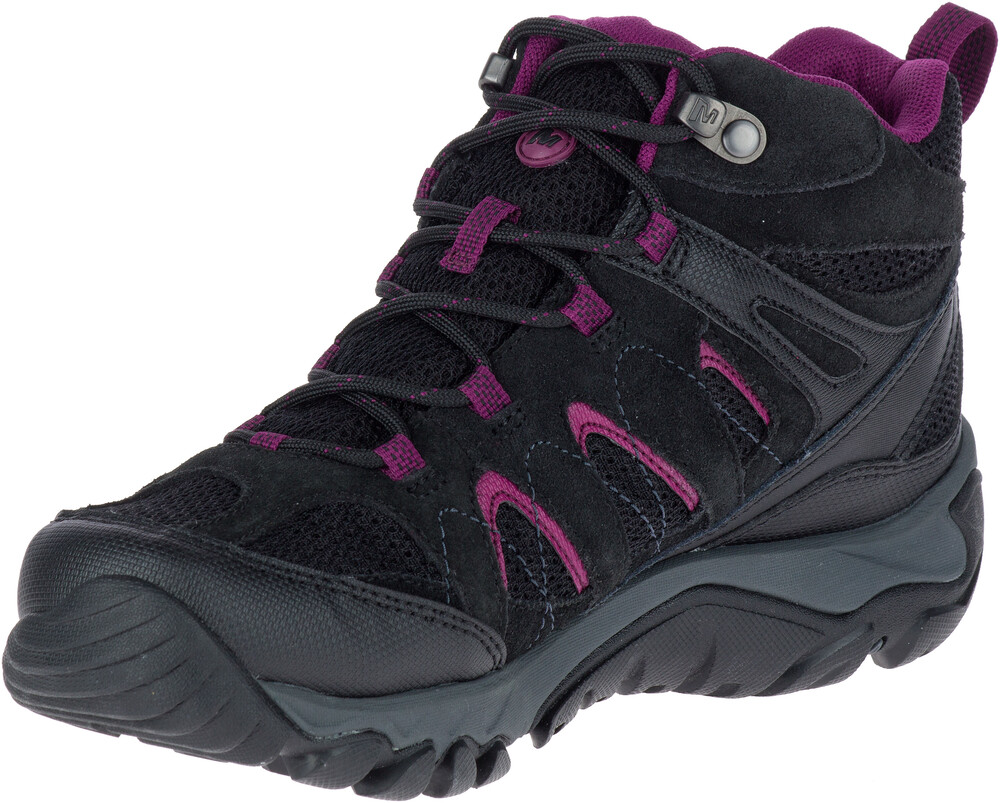 Merrell Outmost MID Vent GTX - Calzado Mujer - gris/azul UK 4 aAAoGX